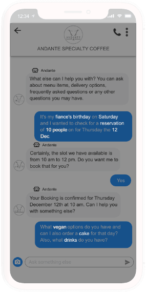 Cutting-edge, real-time AI driven messaging solution